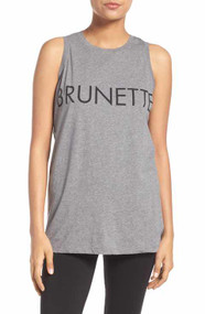 "The ""Brunette"" Crew Neck Tank"