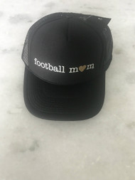 Mother Trucker- Football Mom- Blk/ Gold