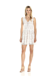 Lucca Couture White Lace Dress