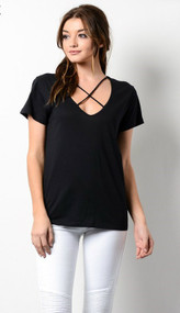 The Carmen Top- Black