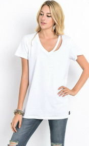 The Kendra Top- White