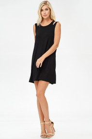 The Sable Dress-Black
