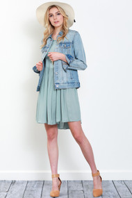 The Fiona Denim Jacket