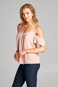 The Lynn Top- Blush