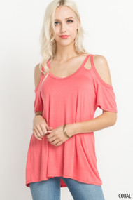 The Alexa Top- Coral