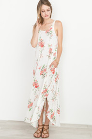 The Laina Maxi Dress- Ivory
