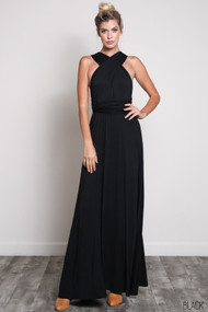 The Bridgette Dress-Black
