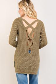 The Kerrigan Sweater- Olive