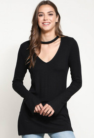 The Cassie Top-Black