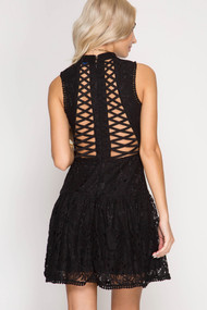 The Brielle Dress- Black