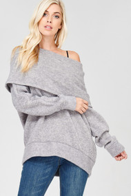 The Tensley Top- Grey