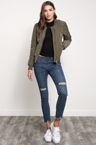 The Haven Jacket- Olive