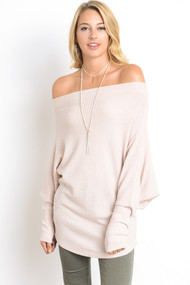 The Eliza Top- Peach