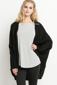 The Mckinley Cardigan-Black