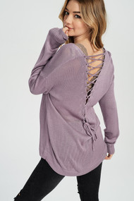 The Millie Sweater- Lavender