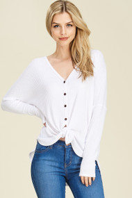 The Dylan Top- White