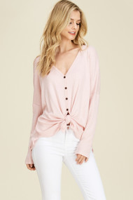 The Dylan Top- Pink