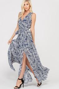 The Deanne Dress- Navy