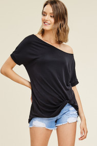 The Aurora Top- Black