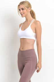The Tessa Sports Bra- White