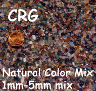 #000 Natural Tumbled Gemstone 1-5mm Mix 1LB
