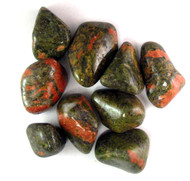 Unakite Tumbled Gemstones 1LB