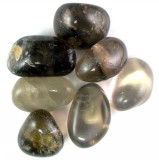 Smokey Quartz Tumbled Gemstones 1-LB