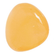 "CALCITE ORANGE Select Tumbled Gemstone 1""-1.25"" Avg"