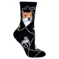 Wheel House American Pitbull Socks