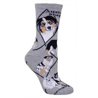 Wheel House Australian Shepherd Socks