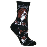 Wheel House Basset Hound Socks