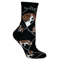 Wheel House Beagle Socks