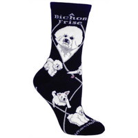 Wheel House Bichon Frise Socks