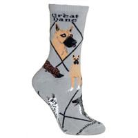 Wheel House Great Dane Socks