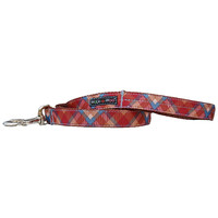 Walk-E-Woo Earth Tone Plaid Lead