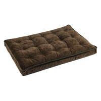 Bowsers Luxury Crate Mattress - Chocolate Bones