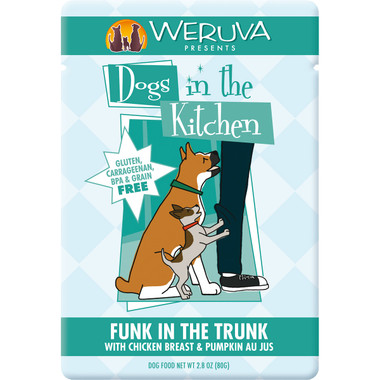 Weruva Dogs in the Kitchen 3oz Pouch Funk in the Trunk