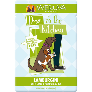 Weruva Dogs in the Kitchen 3oz Pouch Lamburgini