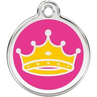 Red Dingo Enamel Queen Crown