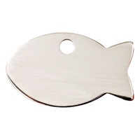 Red Dingo Flat Tag Fish