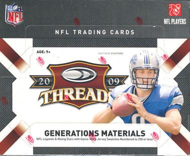 2009 Donruss Threads Football Hobby Box