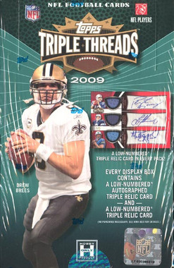 2009 Topps Triple Threads Football Hobby Box