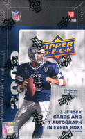 2009 Upper Deck Football Hobby Box