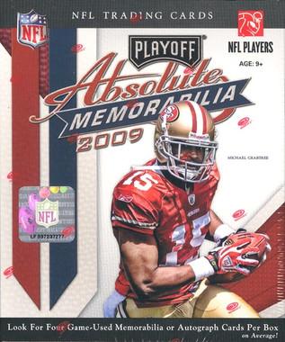 2009 Playoff Absolute Memorabilia Football Hobby Box