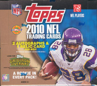 2010 Topps Football Jumbo HTA Hobby Box