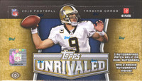 2010 Topps Unrivaled Football Hobby Box