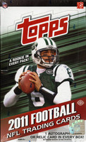 2011 Topps Football Hobby Box