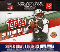 2011 Topps Football Jumbo HTA Hobby Box