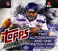 2014 Topps Football Jumbo HTA Hobby Box