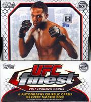 2011 Topps UFC Finest Hobby Box